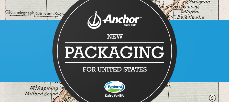 Anchor Dairy by Fonterra Revealed New Brand Packaging