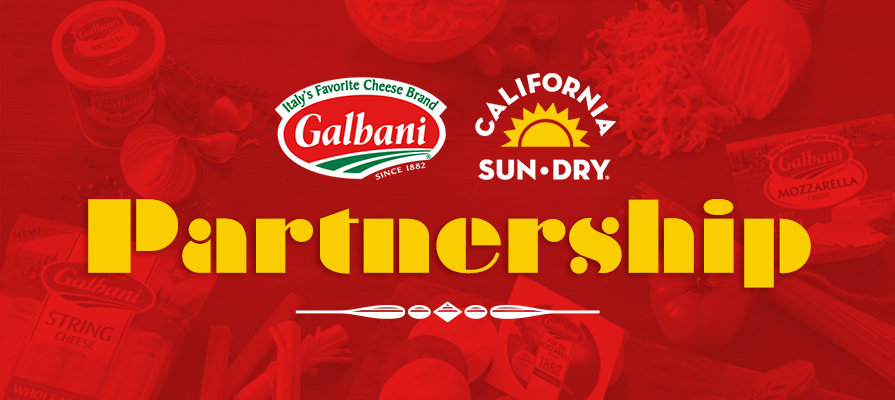 Galbani Cheese Partners with California Sun Dry