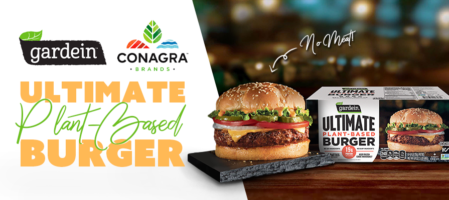 Conagra Unveils New Gardein Plant-Based Burger