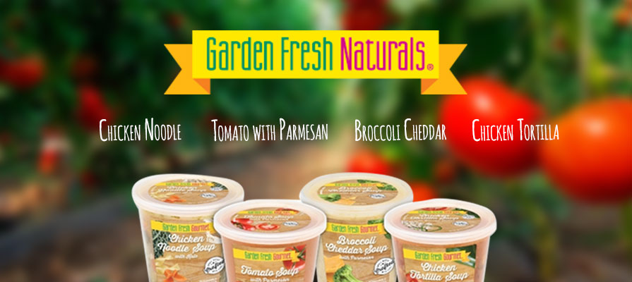Garden Fresh Gourmet Launches New Line of Refrigerated Deli Soups