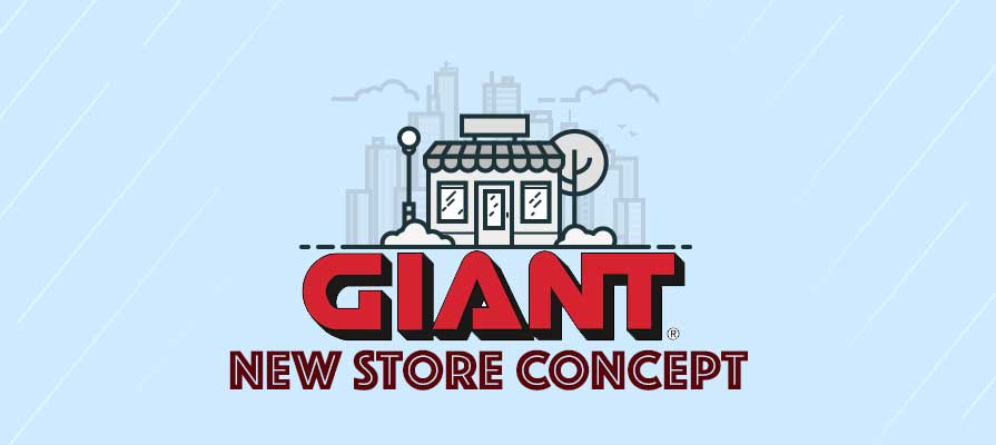 Giant Food Stores Unveils New Store Concept and Format, Celebrates 95th Anniversary