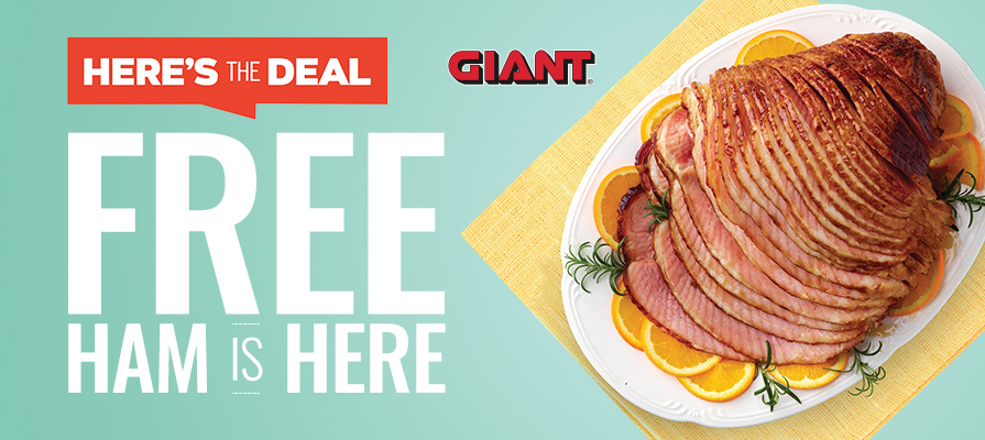 Giant Food Stores Offers Up Free Hams