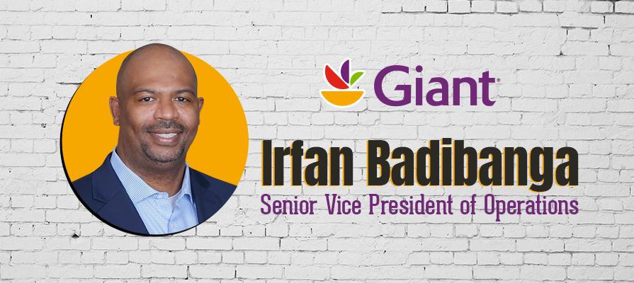 Giant Food Announces Irfan Badibanga as New Senior Vice President of Operations