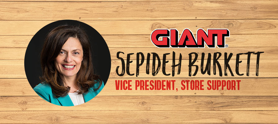 Giant Food Stores Appoints Sepideh Burkett to Vice President, Store Support