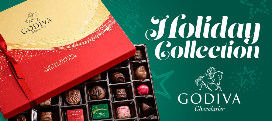 GODIVA's 2020 Holiday Collection Adds A Bit Of Sparkle For Everyone On Your List