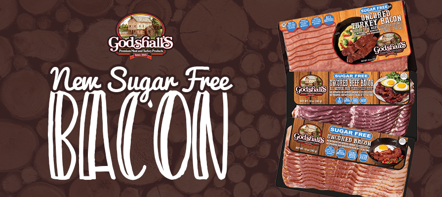 Godshall's Quality Meats Announces Sugar Free Bacon