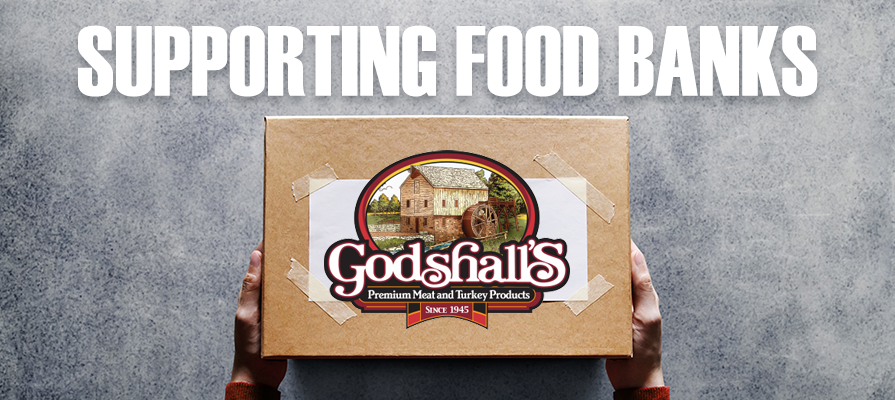 Godshall's Quality Meats Makes Donation to New Jersey Food Banks