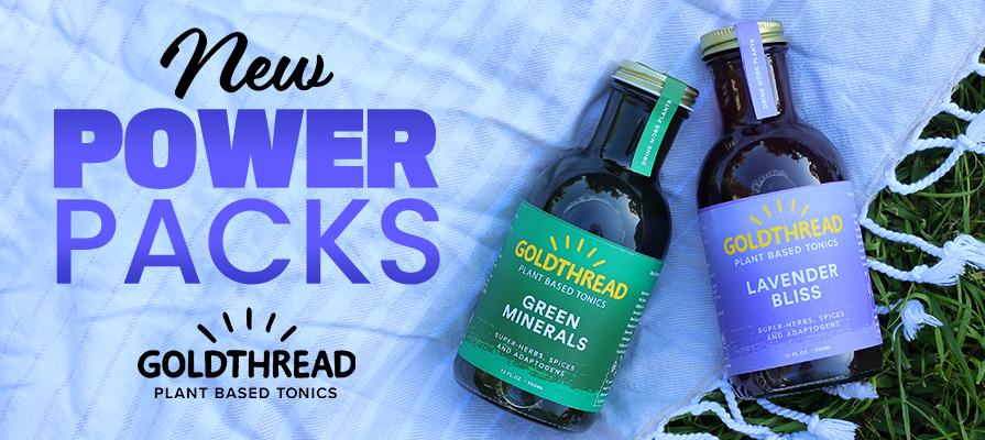 Goldthread Plant-Based Tonics Debuts New Product