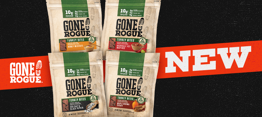 Gone Rogue® Continues to Shake Up the Snack World With New Turkey Bites; Shanta McGahey and Candace M. Cage Discuss