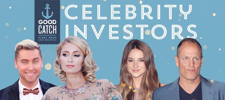 Good Catch® Plant-Based Tuna Line Hooks Celebrity Investors