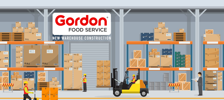 Gordon Food Service Builds New 342K-Square-Foot Warehouse