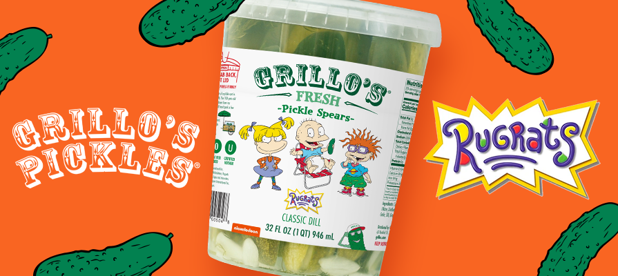Grillo's Pickles Collaborates With Nickelodeon
