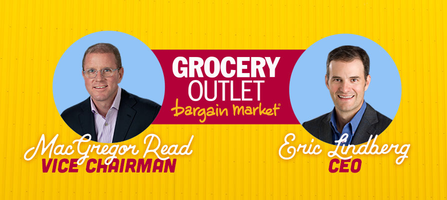 Grocery Outlet Bargain Market Names Eric Lindberg as CEO, MacGregor Read as Vice Chairman
