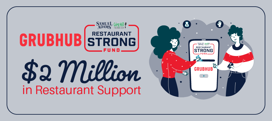 Grubhub and Restaurant Strong Fund Reveal 2M Dollars in Restaurant Support This Winter