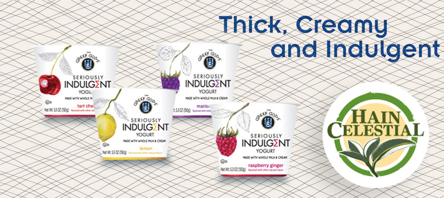 Hain Celestial Introduces New Line of The Greek Gods® Seriously Indulgent Yogurt