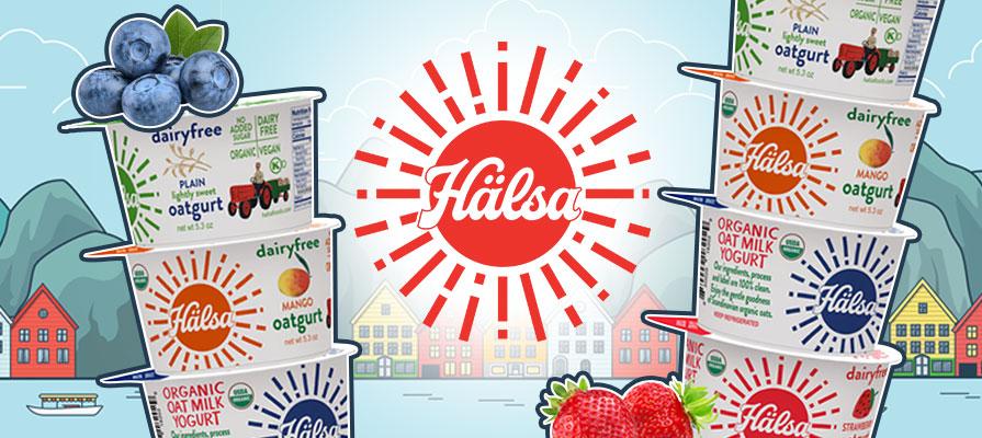 Hälsa Debuts New Organic Oatmilk Yogurt Cups