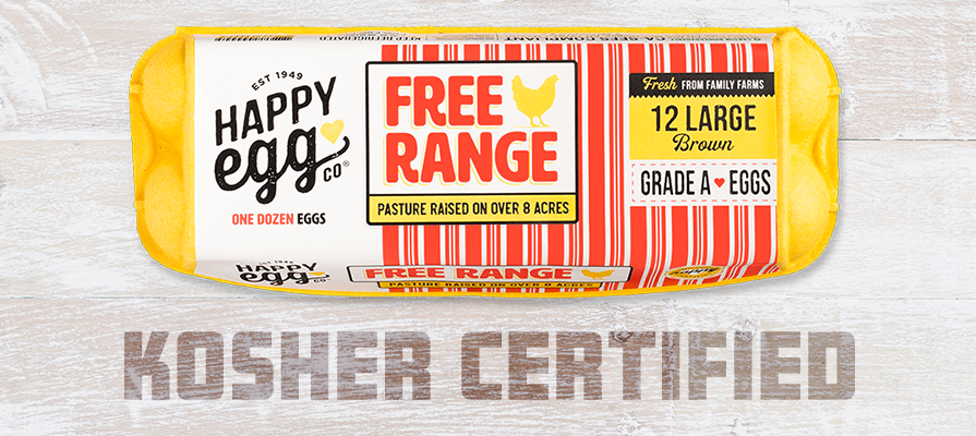 Happy Egg Co.® Receives Kosher Certification By The Orthodox Union
