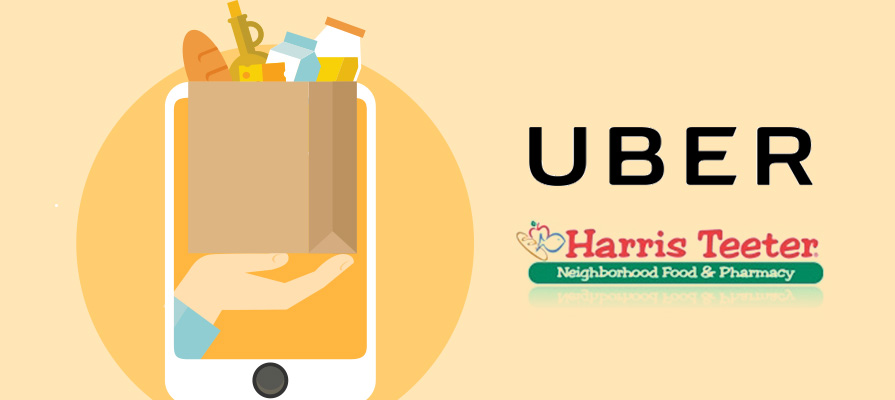 Harris Teeter Expands Home Delivery Service with Uber Partnership