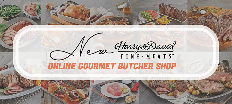 Harry & David® Launches New Gourmet Butcher Shop Online