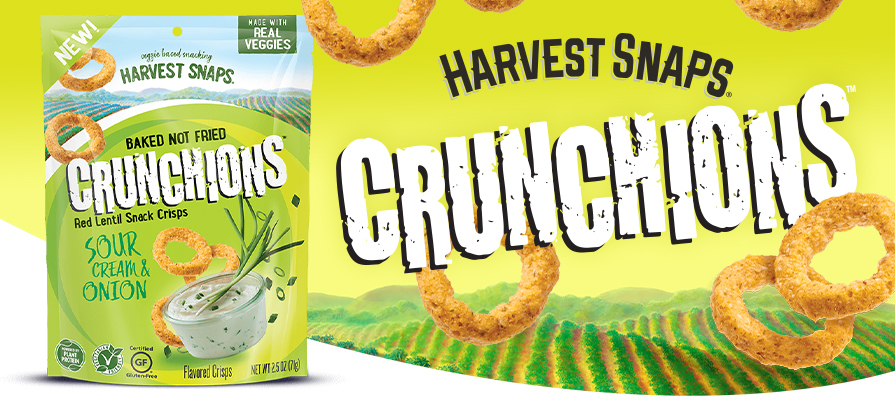 Harvest Snaps Introduces New Crunchions™ Product
