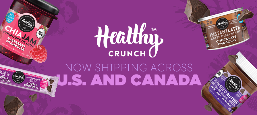 Healthy Crunch Launches Sunseed Butters, Instant Lattes, and Granola Bars
