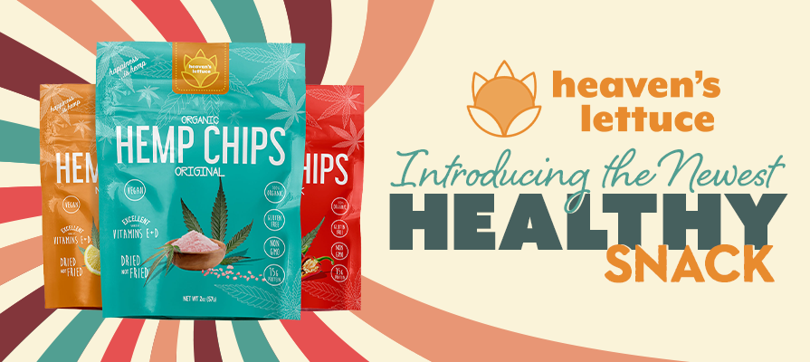 Heaven's Lettuce Launches New Organically Sourced Snack Food Loaded With Nutritional Benefits - Heaven's Lettuce Hemp Chips