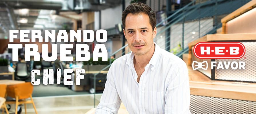 H-E-B-Backed Favor Lands New Chief Marketing Officer, Fernando Trueba