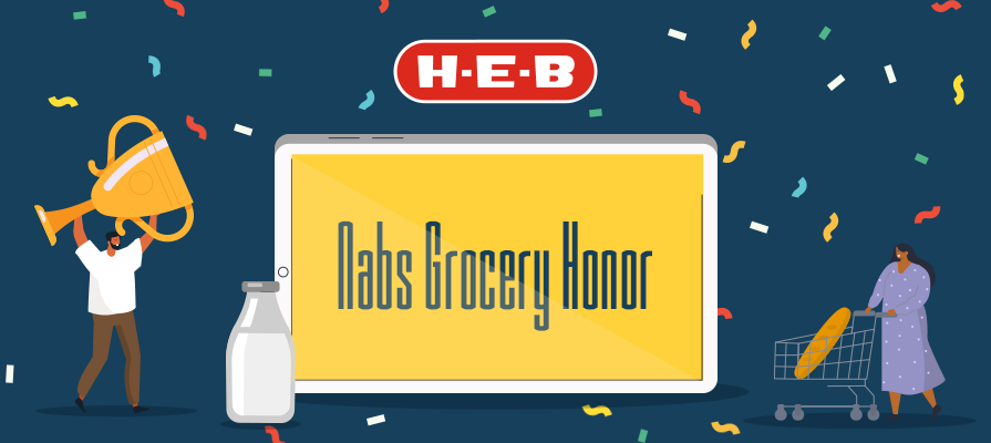 H-E-B Honored for Online Grocery Experience by Ipsos; Carlos Aragon Shares