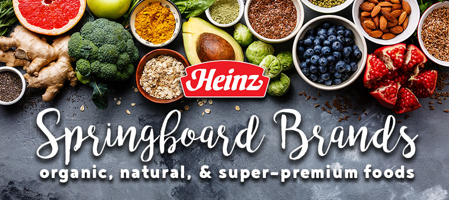 Kraft Heinz Creates Springboard: Business Unit to Fund and Promote Industry-Disruptive Food Brands