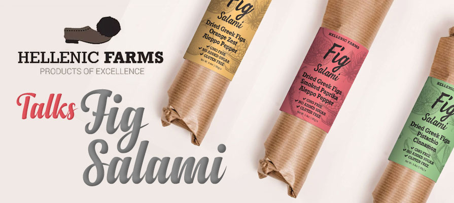 Hellenic Farms Founder Vivianna Karamanis Tziotis Discusses New Fig Salami Line