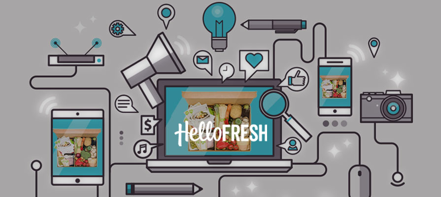 HelloFresh Tops Meal Kit Market With Social Media Strategy