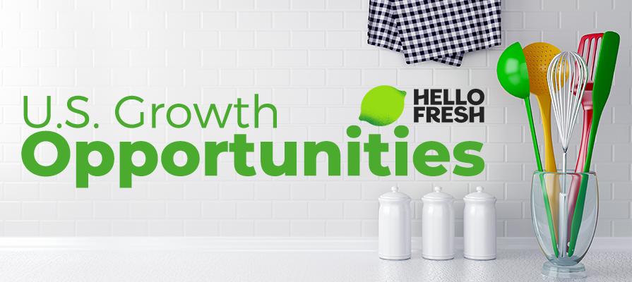 HelloFresh Sees U.S. Growth Opportunities Boom