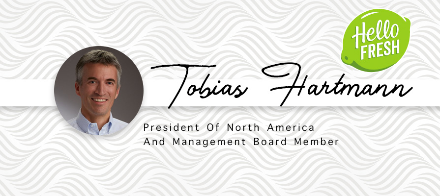 HelloFresh Taps Tobias Hartmann As President Of North America And Management Board Member