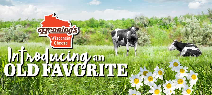 Henning's Wisconsin Cheese Brings Back June Daisies