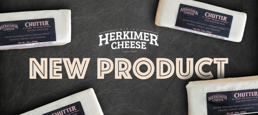 Original Herkimer Cheese® Launches 10 oz CHUTTER® Bar