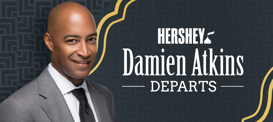 Hershey Announces Departure Of General Counsel Damien Atkins