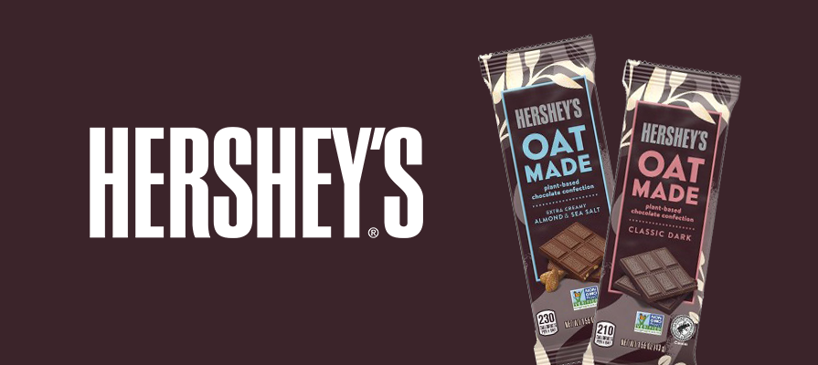 Hershey's Debuts Its First Vegan Chocolate Bars Made With Oat Milk