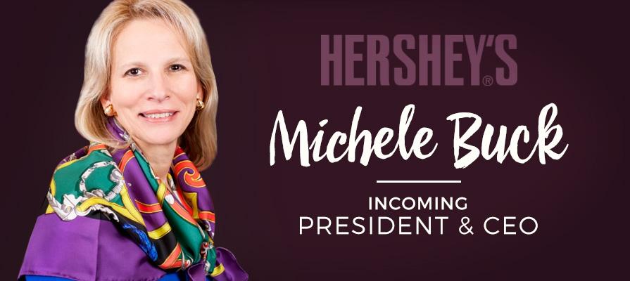 Hershey's Co. COO Michele Buck Named Company's CEO
