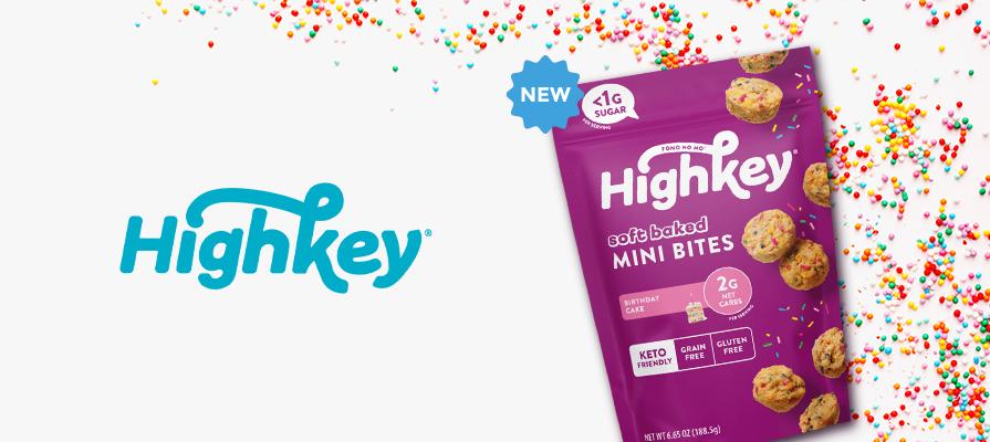 HighKey Debuts New Soft Baked, Low-Sugar Mini Muffin Bites; Joe Ens Discusses