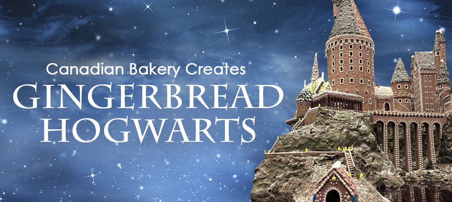 A Canadian Bakery Created a Gingerbread Hogwarts
