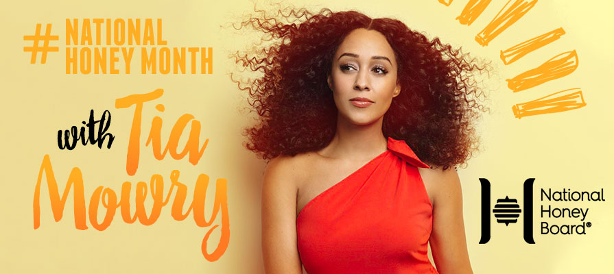 Tia Mowry Lends Star Power to National Honey Month Promotion