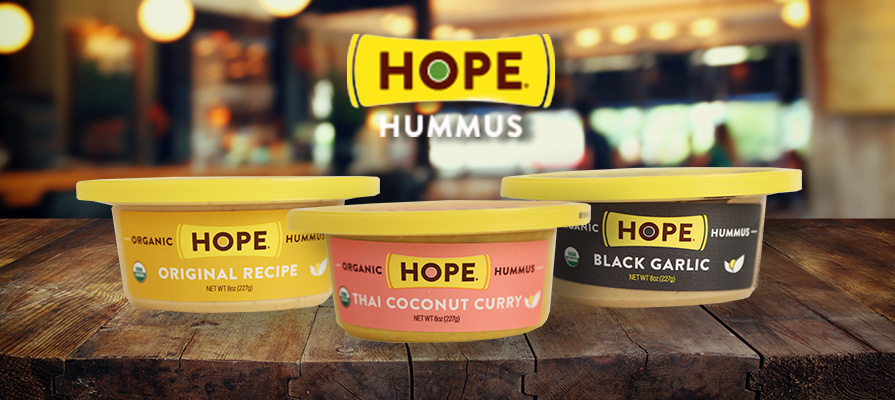 Hope Foods Offers Fresh Ingredients To Hummus-Loving Consumers