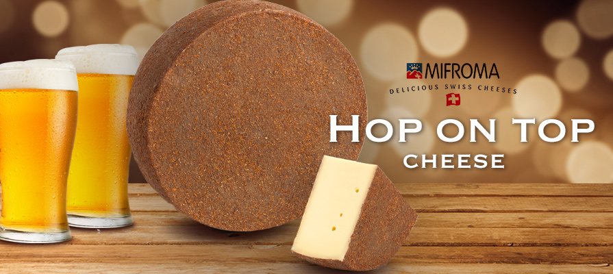Atalanta's Mifroma Hop on Top Cheese Puts Beer Flavor Forward