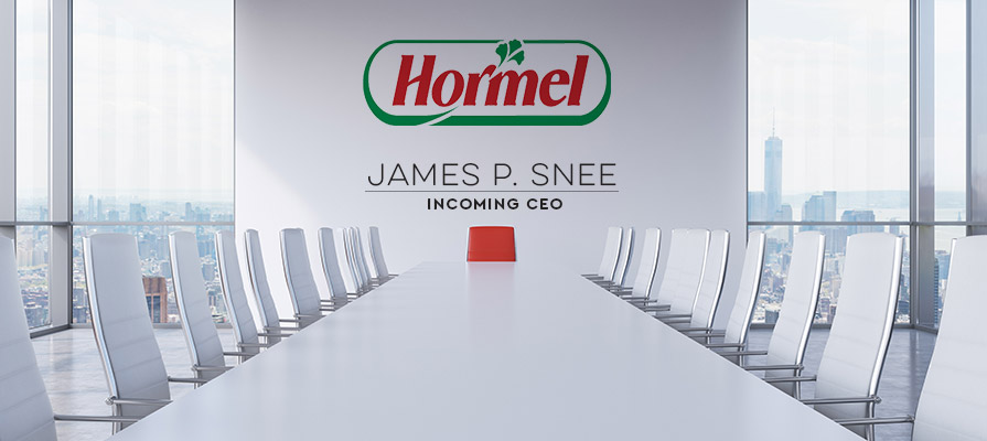 Hormel Foods Corp Appoints James Snee as New CEO