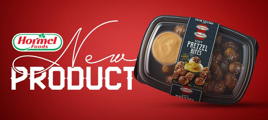 Hormel Foods Unveils Pretzel Bites with Cheese