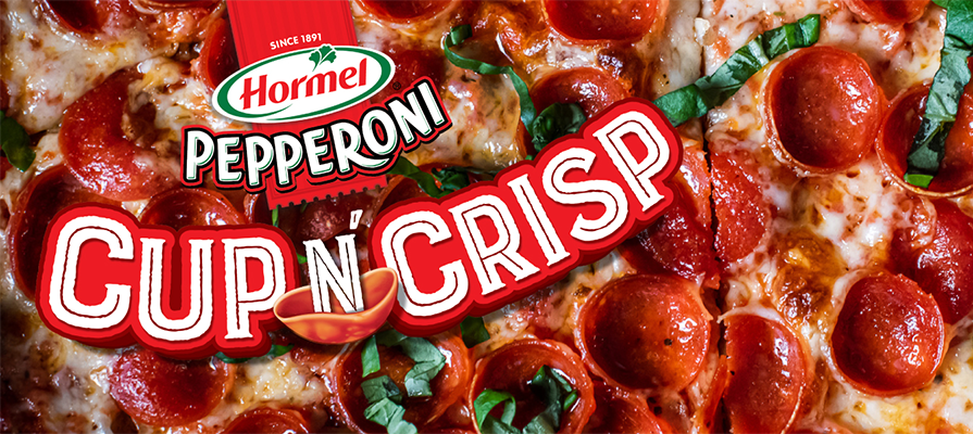 Hormel Launches Pepperoni Cup N' Crisp