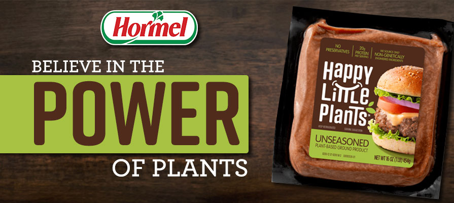 Hormel Launches New Plant-Based Meat Line, Happy Little Plants™