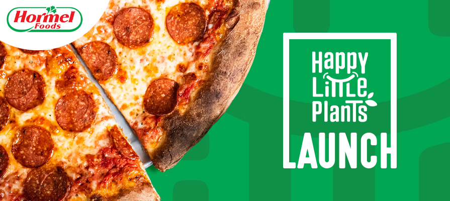 Hormel Foods Launches Happly Little Plants® Plant-Based Pepperoni Topping; Anthony Panichelli Comments
