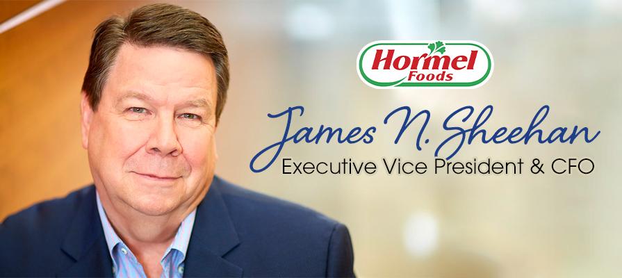 Industry Veteran James N. Sheehan Steps Up to the Plate at Hormel