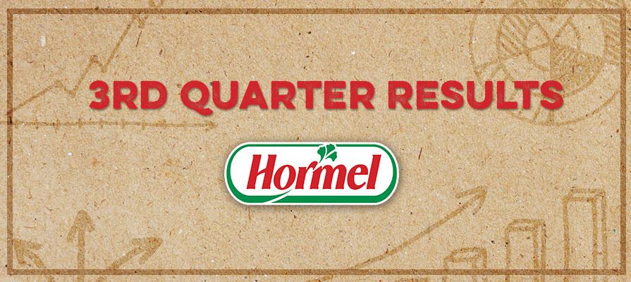 Hormel Foods Breaks Records for Third Quarter 2016; Raises Full Year Guidance